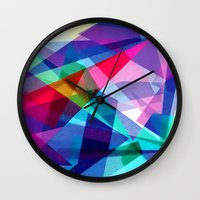 architecture Wall Clocks featuring Architecture by Rachel Stewart Design