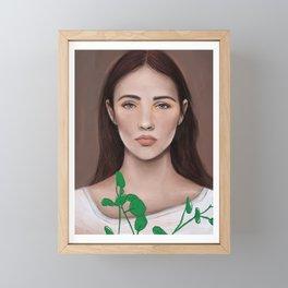 spring is here Framed Mini Art Print