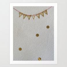 mini celebration Art Print