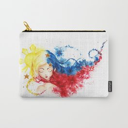 Lady Filipino Carry-All Pouch