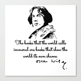 Oscar Wilde, The Picture of Dorian Gray Canvas Print