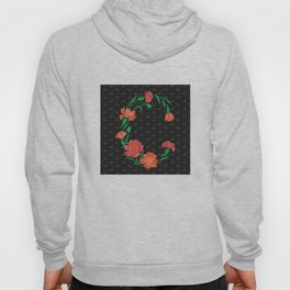 Abstract pinks frame Hoody