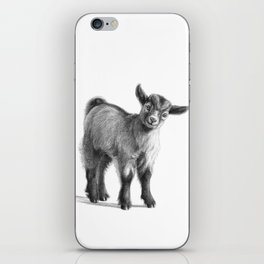 Goat baby G097 iPhone Skin