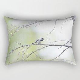 Black-Capped Chickadee 1 Rectangular Pillow