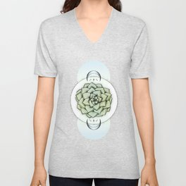 Sempervivum Unisex V-Neck
