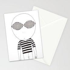 hypnotic child Stationery Cards