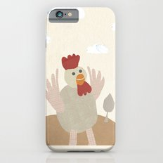 rooster collage iPhone 6s Slim Case