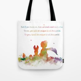 Little Prince Fox Tote Bag