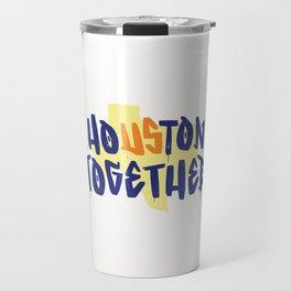 Houston Texas Together Travel Mug