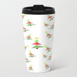 Descending Christmas Travel Mug