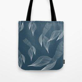 blue mermaid tails Tote Bag