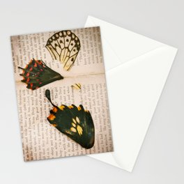 Words like butterflies Stationery Cards