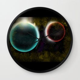 Karezi Planets Wall Clock