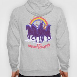 Four Horsemittens Of The Meowpocalypse Hoody