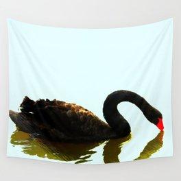 Chengdu Black Swan  Wall Tapestry