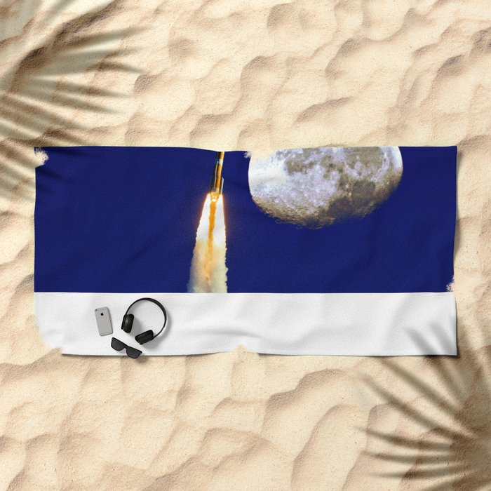 Come Fly With Me Beach Towel