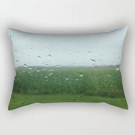 rural vermont summer rain Rectangular Pillow