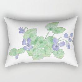 Viola sororia Rectangular Pillow