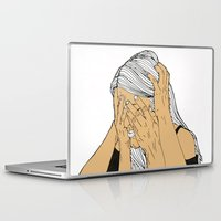 introvert Laptop & iPad Skins featuring Introvert 9 by Heidi Banford