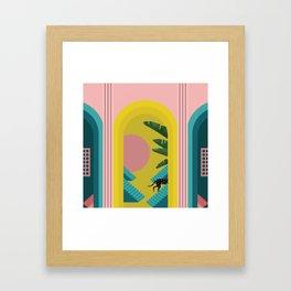 Walking the Dream Framed Art Print