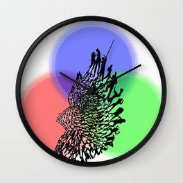 Dancing Sculpture Wall Clock