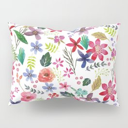 """""""The earth laughs in flowers"""" Pillow Sham"""