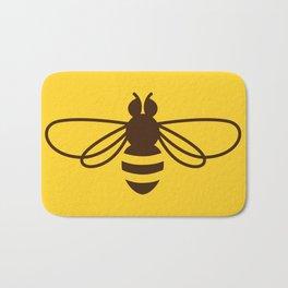 Be safe - save bees Bath Mat