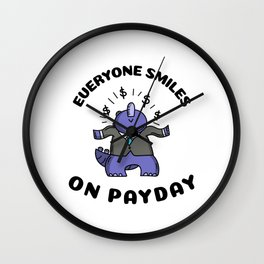 It's Payday Wall Clock