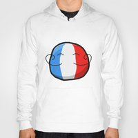 france Hoodies featuring France by Thomas Official