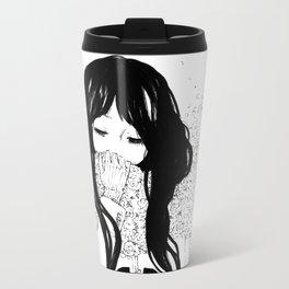 Flower Scarf Metal Travel Mug