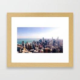 chicagoline Framed Art Print