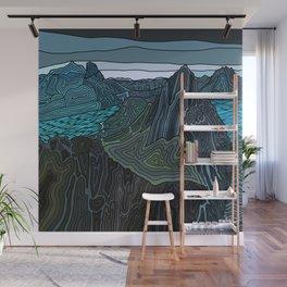 Norway Fjords  Wall Mural