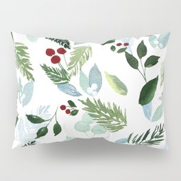 Blue Christmas Pillow Sham