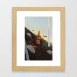 Mr. Albert Framed Art Print