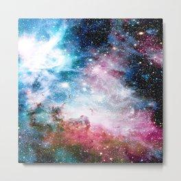 Carina Nebula : Colorful Galaxy Metal Print