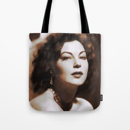 Ava Gardner, Hollywood Legends Tote Bag