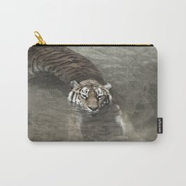 Tiger Lazing in the Water Carry-All Pouch