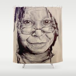 Whoopi Shower Curtain