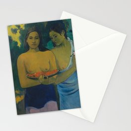 Paul Gauguin - Two Tahitian Women (1899) Stationery Cards