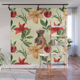 Lilies Wall Mural