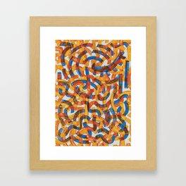 Pattern № 17 Framed Art Print