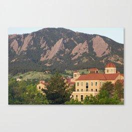 University of Colorado - Boulder Canvas Print