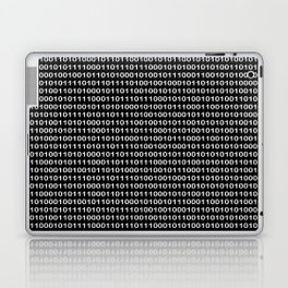 Binary Code in DOS Laptop & iPad Skin