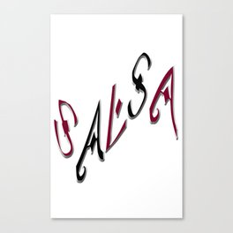 Salsa Top Hit Canvas Print