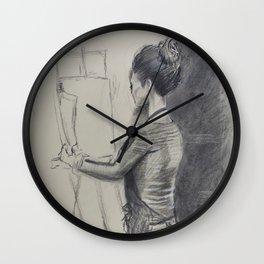 Study of an Artist Wall Clock