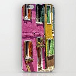 Burano, Venice - Italy iPhone Skin