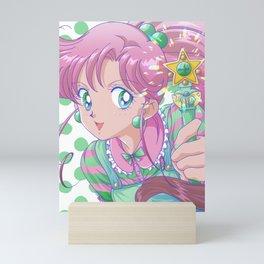 Green Makoto Mini Art Print