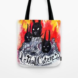 Demon Bunnies Tote Bag