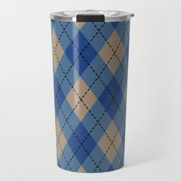 Christmas Sweater  Pattern Winter Colors Travel Mug