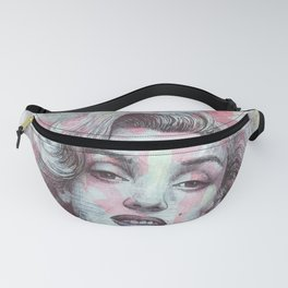 Marilyn - Give A Girl The Right Pair Of Shoes And She'll Conquer The World Fanny Pack